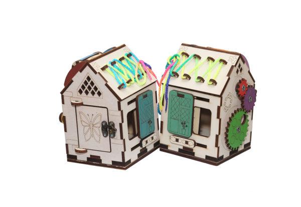 Дом бизиборд 10х10х15 без электрики