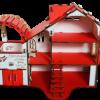 Кукольный домик с гаражом №2, разборной