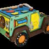 Машинка из древесных материалов №47 без электрики