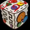 Куб из древесных материалов №13