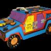 Машинка из древесных материалов №58 без электрики
